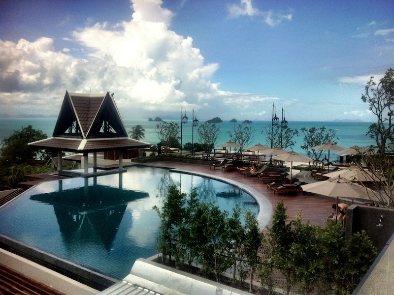 Intercontinental resort samui baan taling ngam creators for Design hotel koh samui