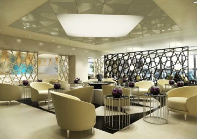 QATAR Airways Lounge Bangkok